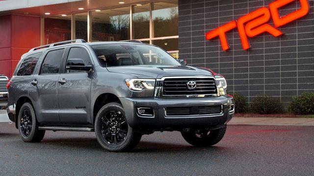 2019 Toyota Sequoia TRD Sport front