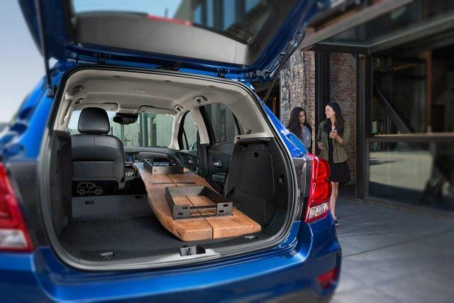 2019 Chevy Trax trunk