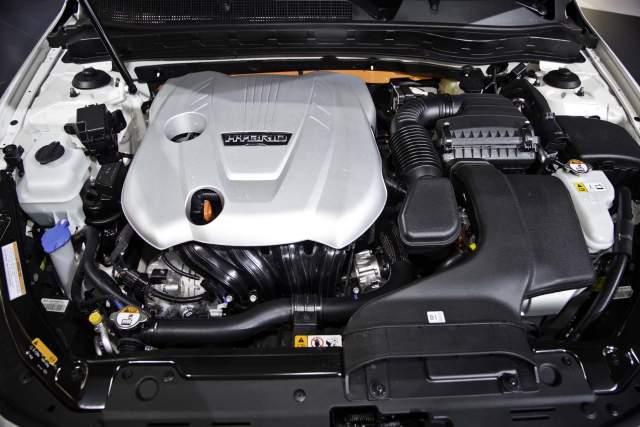 2019 Kia Sportage Hybrid engine