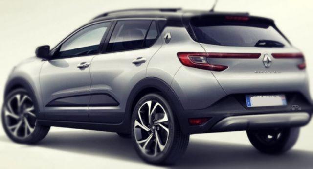 2019 Renault Captur rear