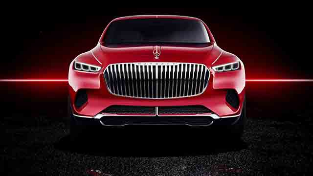 Maybach SUV front