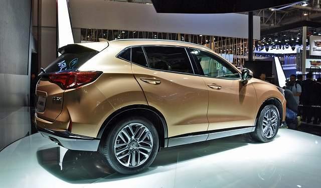 2019 Acura CDX rear