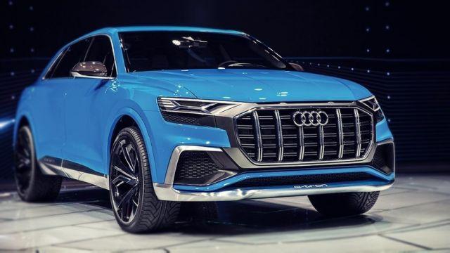 2019 Audi Q8 e Tron