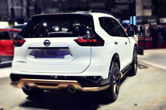 2019 Nissan X-Trail rear