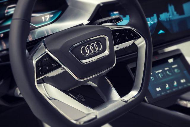 2020 Audi Q6 e-tron interior