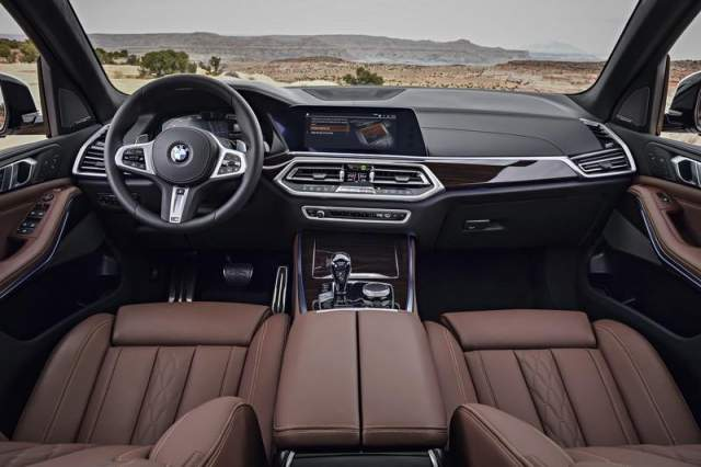 2019 BMW X5 Diesel interior
