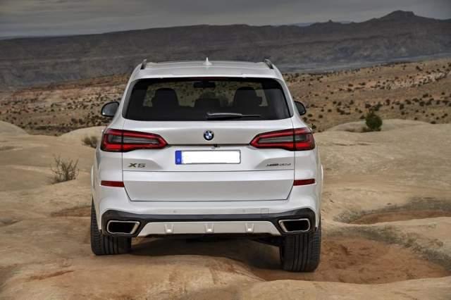 2019 BMW X5 Diesel rear