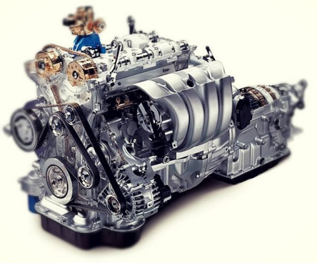 2019 Hyundai Santa Fe N engine