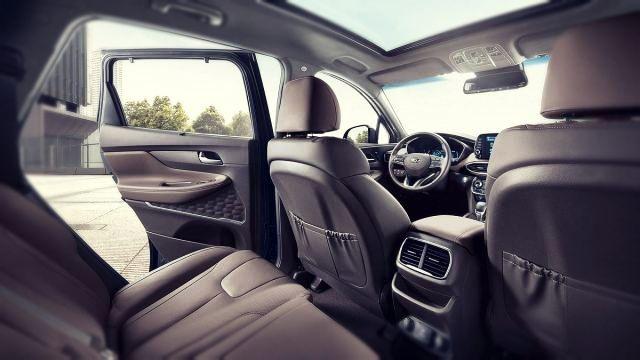 2019 Hyundai Santa Fe N seats