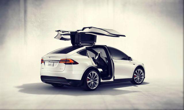 2019 Tesla Model X rear