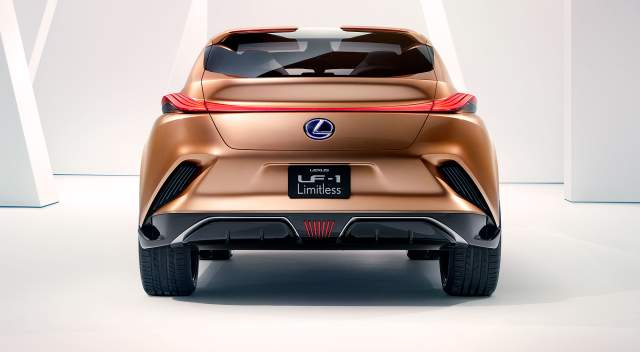 2020 Lexus LF-1 Limitless rear