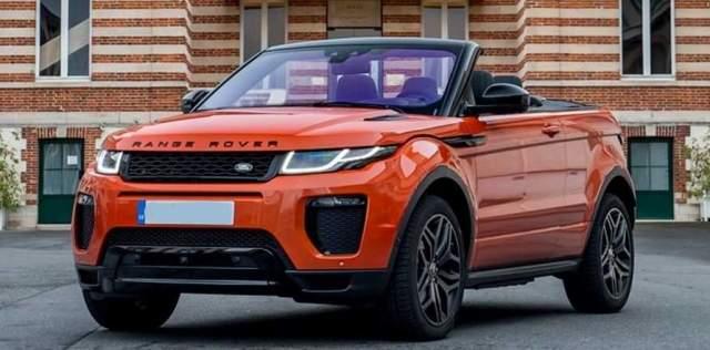2020 Range Rover Evoque Convertible