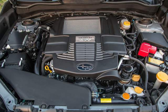 2020 Subaru Outback turbo engine