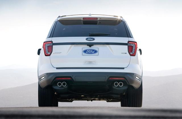 2020 Ford Explorer concept
