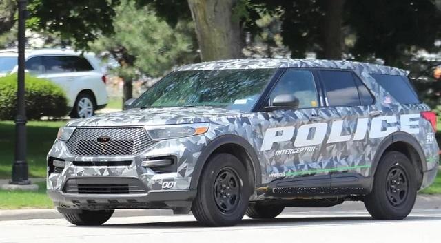 2020 Ford Explorer spied