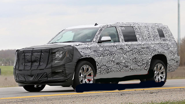 2020 GMC Yukon spy photos