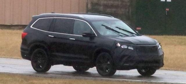 2020 Honda Pilot spied