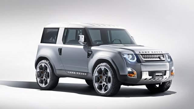 2020 Land Rover Defender concept dc100