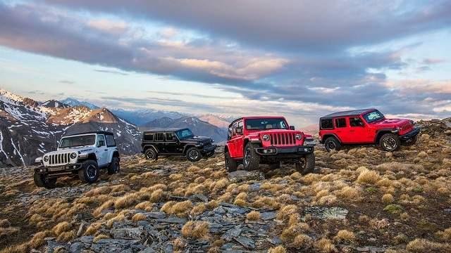 2020 Jeep Wrangler configurations