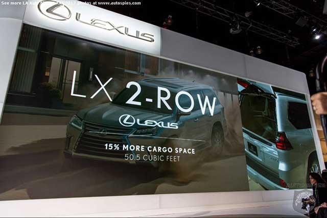2020 Lexus LX 570 two row