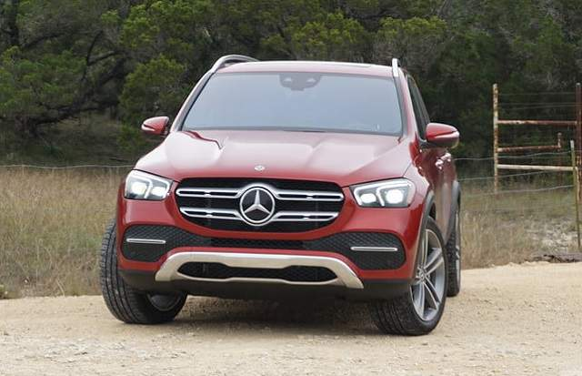 2020 Mercedes GLE changes