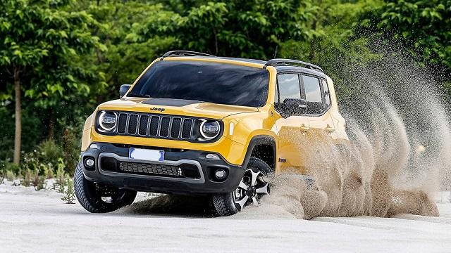 2020 Jeep Renegade facelift