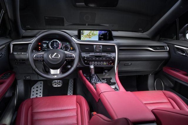 2020 Lexus RX f sport