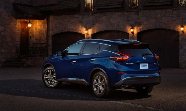 2020 nissan murano changes