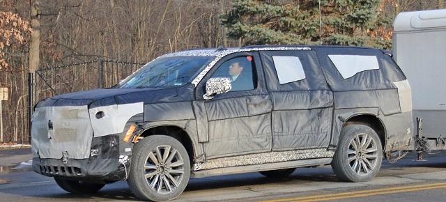 2020 Cadillac Escalade ESV release date