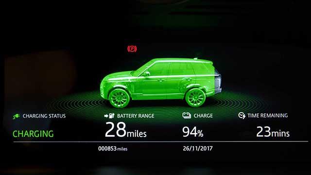 2020 Land Rover Range Rover p400e hybrid