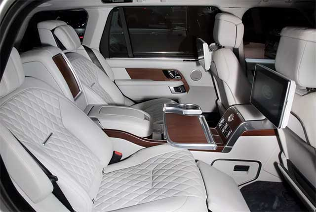 2020 Land Rover Range Rover svautobiography interior