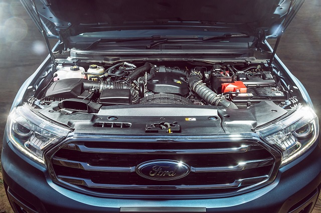 2020 Ford Everest diesel engine