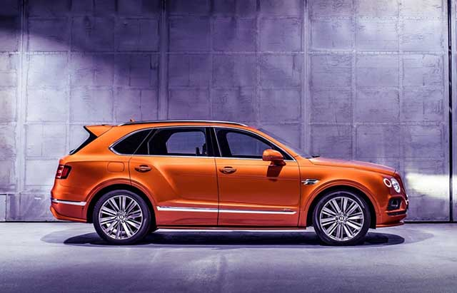 2020 Bentley Bentayga price