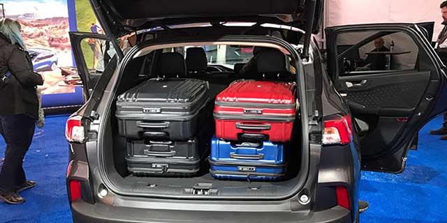 2020 Ford Escape Hybrid cargo space