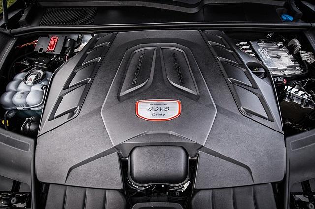 2020 Porsche Cayenne turbo engine
