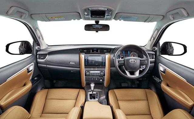 2020 Toyota Fortuner interior