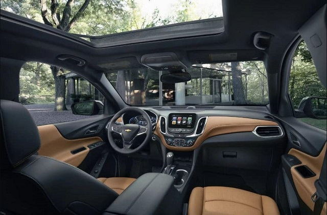 2021 Chevy Equinox interior