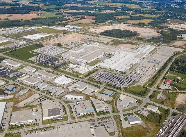 Lexus Plant in Ontario, Canada
