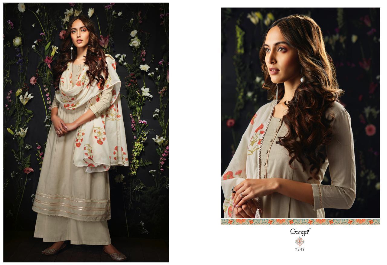 e05290c803 Ganga fashion Harlet Exclusive Cotton salwar kameez - Suvesa ...