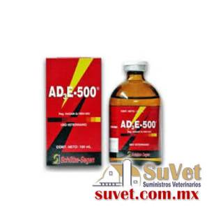 VITAMINA ADE 500  Descontinuado frasco de 100 ml - SUVET