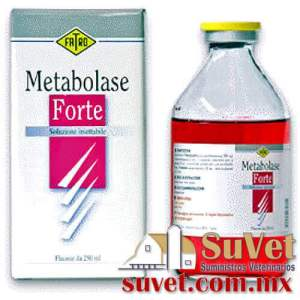 METABOLASE FORTE frasco de 100 ml - SUVET