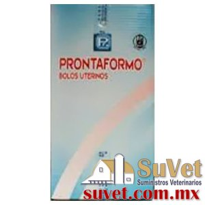 PRONTAFORMO UTERINO®  caja con 50 bolos uterinos - SUVET
