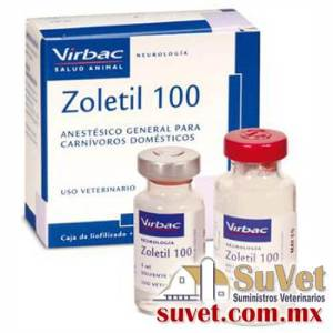 Zoletil® 100 frasco de 5 ml - SUVET