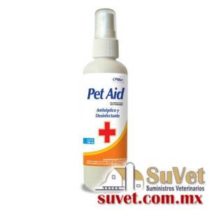 Pet Aid Descontinuado frasco de 100 ml - SUVET