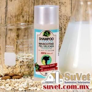 Shampoo Hipoalergénico y Relajante Natural Envase de 240 ml - SUVET