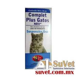 Complet Plus Gatos Susp Oral frasco de 30 ml - SUVET