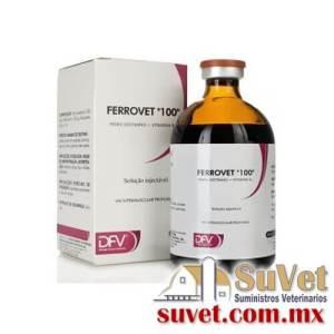 "Ferrovet ""100"" (sobre pedido) caja con 30 frascos de 100 ml - SUVET"