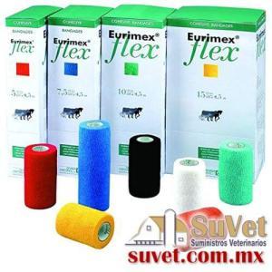 Eurimex flex 4.5 x 7.5 cm verde (sobre pedido) caja de 10 pz - SUVET