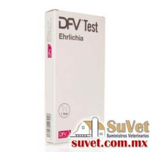DFV test ehrlichia 10 determinaciones (sobre pedido) caja de 10 pz - SUVET