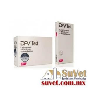 DFV test lea 10 determinaciones (sobre pedido) caja de 10 pz - SUVET